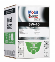 MOBIL SUPER 3000 X1 5W-40 BAG-IN-BOX